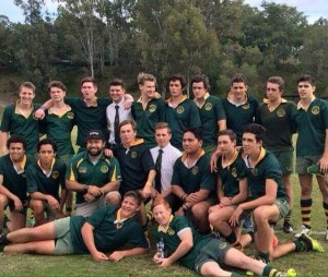 St Pat's 2nd XV finish 2nd overall with a record of 5 wins and one loss.