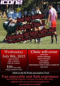 School holiday coaching clinic